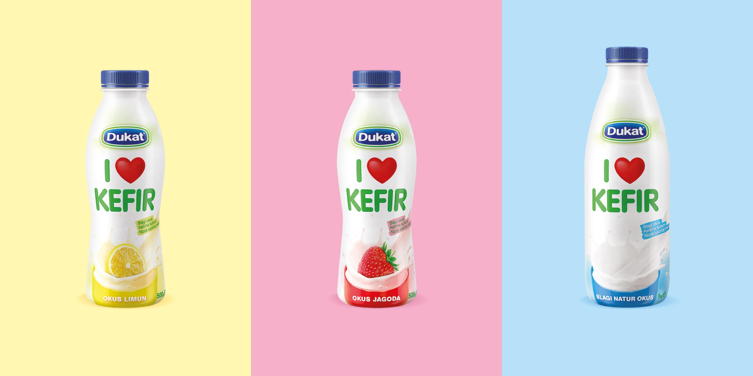 I love Kefir – modern tradition